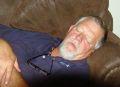 Steve having a nap
